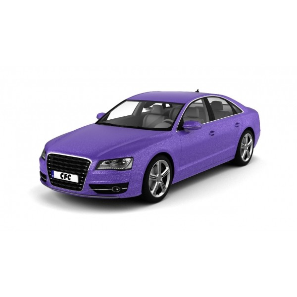 Car wrap folie CFC Designfolie Glitter Lilac 50x1.22m