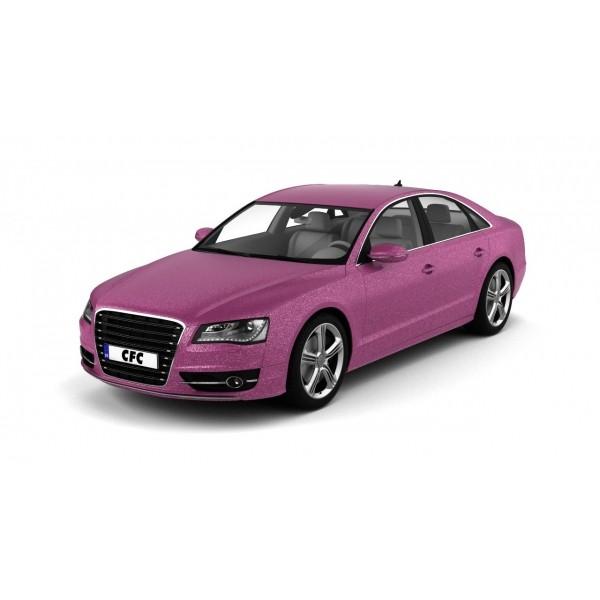 Car wrap folie CFC Designfolie Glitter pink 50x1.22m