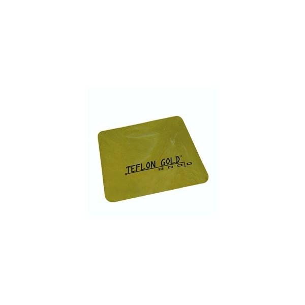 Teflon spatel 10.5 x 7.5cm Gold