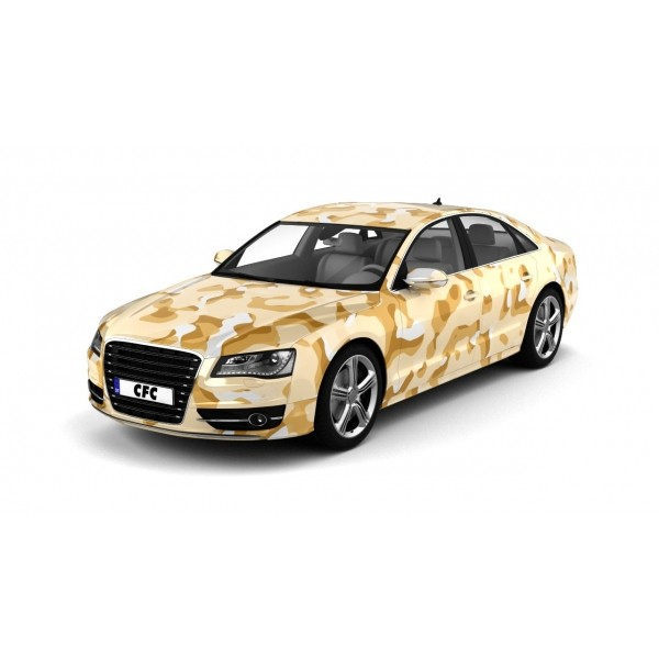Car Wrap Folie Camouflage Desert Glans 150x100cm