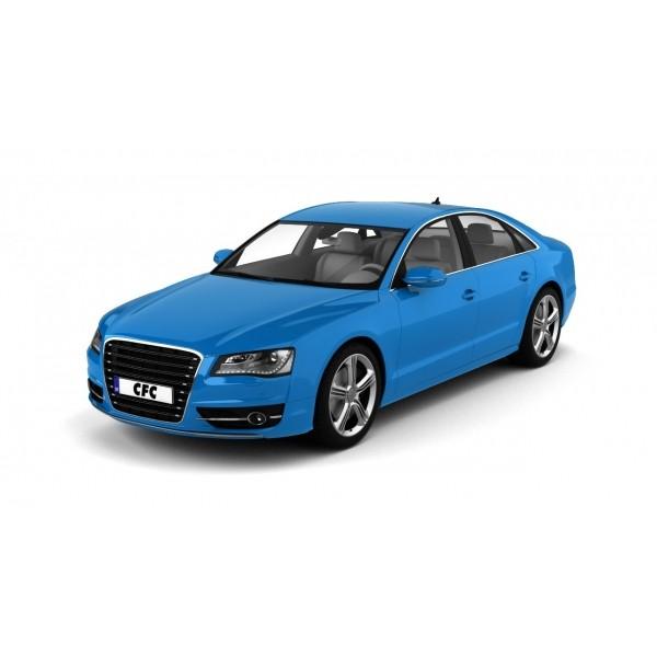 Car wrap folie CFC serie 400 glans smurf blue 152x100cm