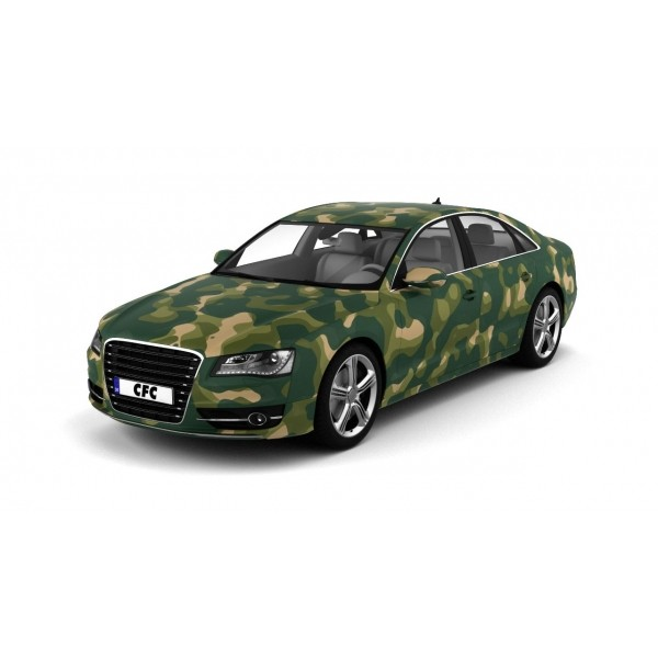Car Wrap Folie Camouflage Military Matt 150x100cm