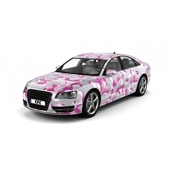 Car Wrap Folie Camouflage Princess Glans 150x100cm