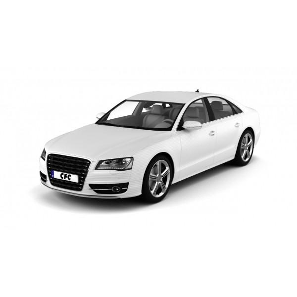 Car wrap folie CFC Designfolie emboss-silver 60 x 50 cm