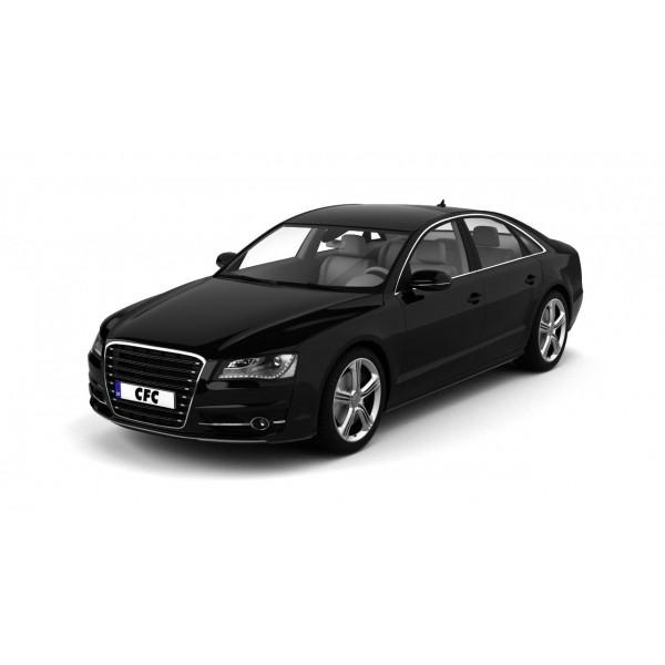 Car wrap folie CFC serie 400 glans raven black 137x100cm
