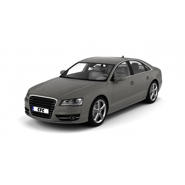 Car wrap folie CFC Designfolie alu-brushed dark 122x100cm