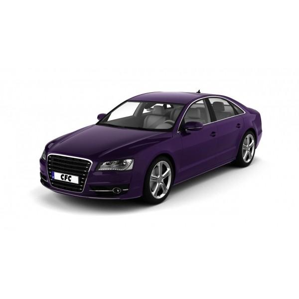 Car wrap folie CFC Designfolie Glitter Purple/Brown FlipFlop 152