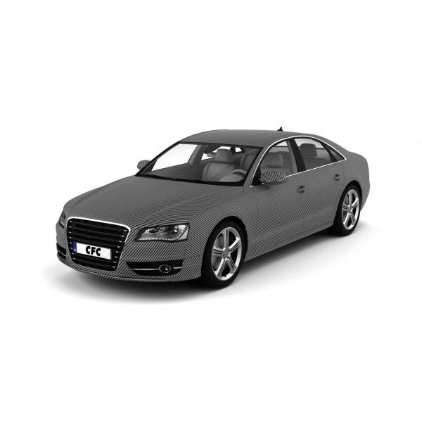 Car Wrap Folie CFC carbon zilver matt 1.50x6.0m