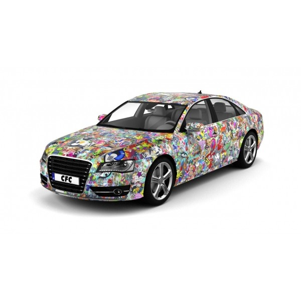 Car Wrap Folie CFC Stickerbom Color glans 150x300cm